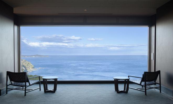 海一望の客室